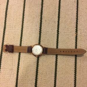 Daniel Wellington Accessories - Daniel Wellington Dapper brown leather watch